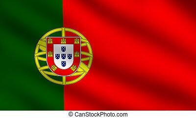 Portuguese flag - Flag of Portugal
