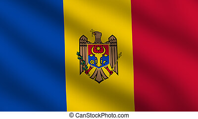 Moldova Flag - Flag of Moldova