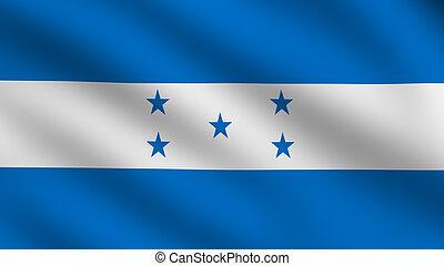 hondureño, bandera