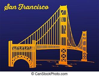 Golden Gate Bridge at Night San Fra