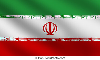 Iran flag - Flag of Iran