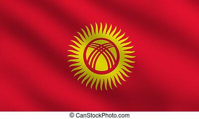 Kyrgyzstan Flag - Flag of Kyrgyzstan
