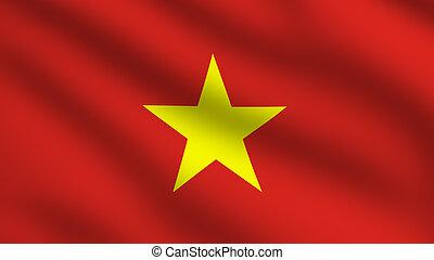 Vietnam Flag - Flag of Vietnam