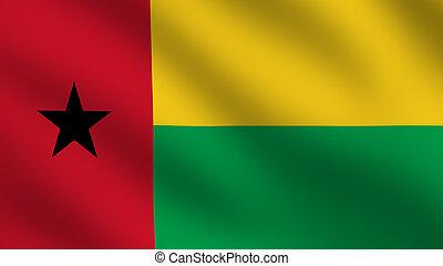 Guinea-Bissau Flag - Flag of Guinea-Bissau