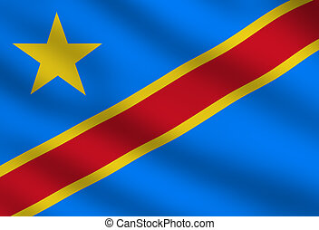 Democratic Republic of the Congo flag - Flag of Democratic...