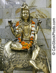 shiva - statue of lord shiva, delhi, india