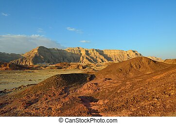 Timna Valley - The Timna Valley - historical area is rich in...