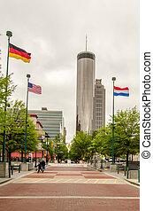 Downtown Atlanta, Georgia USA skyline