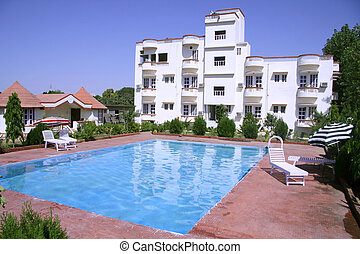 hotel - tourist resort in pushkar, rajasthan