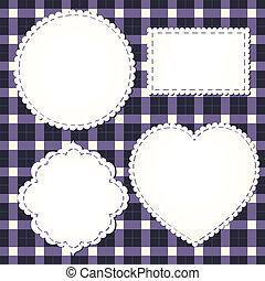 Set of textile labels