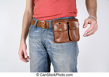 belt bag - series: male belt bags pouches