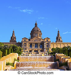 National Museum in Barcelona - MNAC - National Museum of Art...