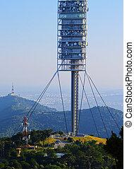 Collserola Tower in Barcelona - Torre de Collserola -...
