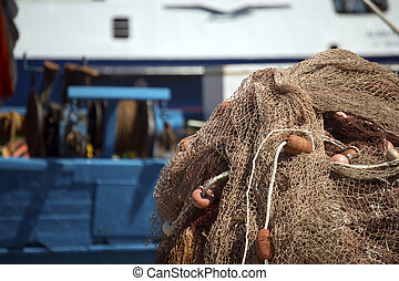 Fishing Net and Ropes