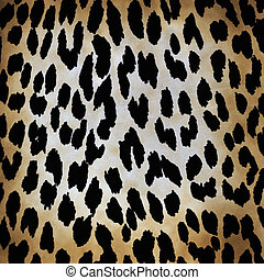 leopard pattern - wild animal pattern background or texture...