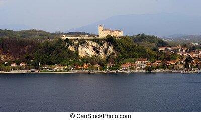 rocca Angera, Lomardy - Rocca di Angera in Time-lapse,...