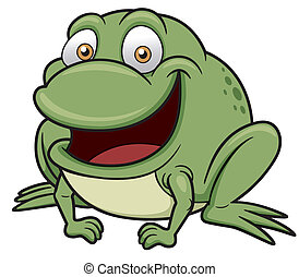 Frog - Vector illustration of frog cartoon