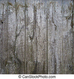 weathered wooden background - weathered wooden planks...