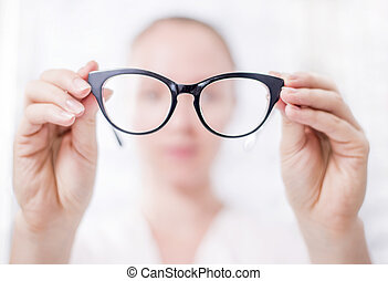 At the Optician - Eye Care