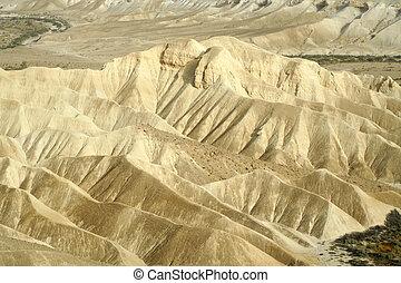 dune - sand dunes sede boker desert, israel