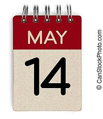 14 may calendar