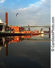 Cuyahoga River, Cleveland Ohio