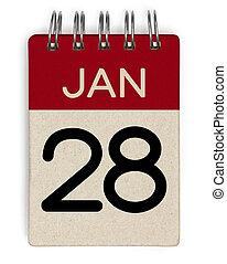 28 jan calendar