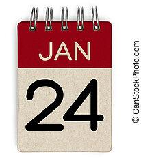 24 jan calendar