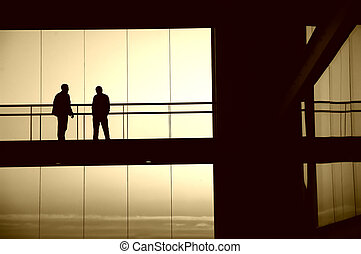 sillouettes - people silhouettes
