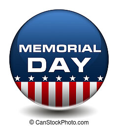 American Memorial Day Badge