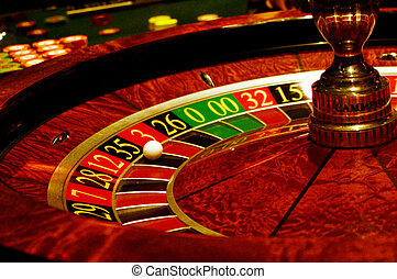 Spinning Roulette wheel - MELBOURNE,AUS - APR 11...