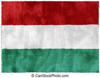 Hungary - Flag of Hungary