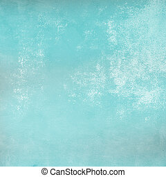 Distressed turquoise background