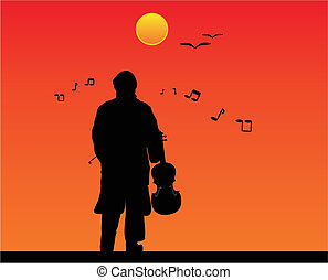 The day the music - The sounds of music fills the air as he...