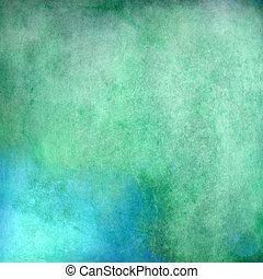Green vintage background