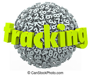 Tracking Word Numbers Online Data Information Order Finding...