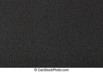Black aluminum texture