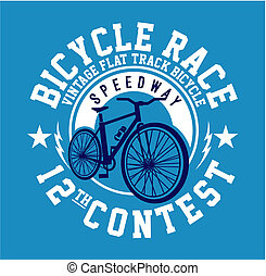 Bicycle Race graphic t-shirt