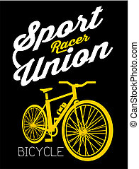 Bicycle Sport Racer