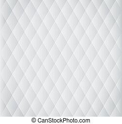 Seamless rhomb black-and-white pattern illustration