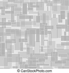 Abstract grey rectangle vector background