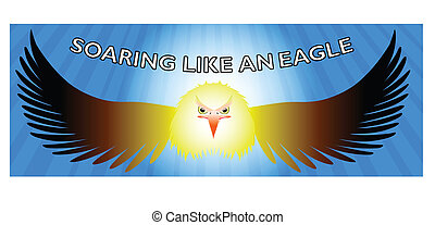 Soar like an eagle- Facebook timeline
