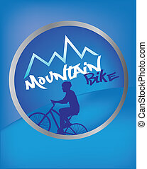mountain bike - sport of mountain bike