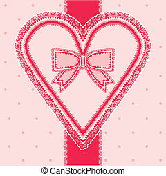 Valentines day vintage card