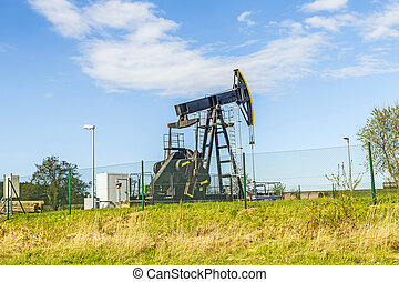 Production of mineral oil in Usedom - Production of mineral...