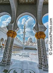 les, Shaikh, Zayed, mosquée