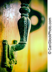 Part of Old doorhandle Macro shoot