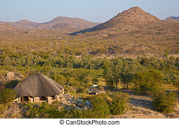 Refuge - Lodge nestling in the beautiful arid landscape of...