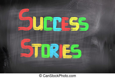 Success Stories Concept