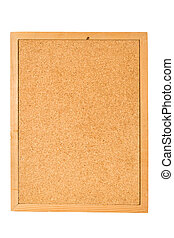 Bulletin Board with white background